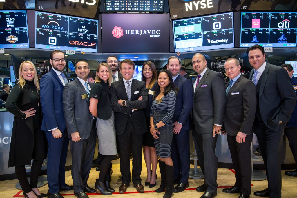 Herjavec Group Ringing NYSE Opening Bell