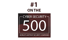 #1 on the Cyber Security 500