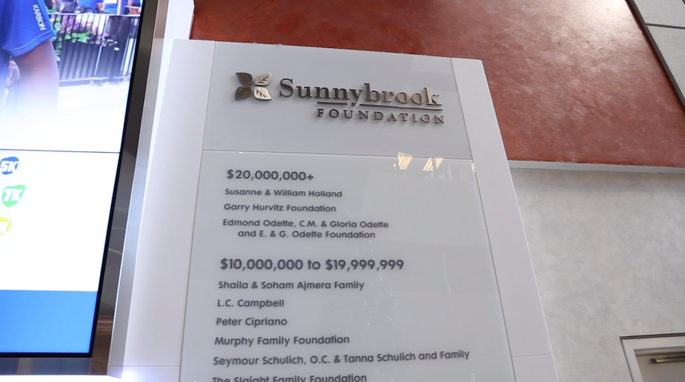 Herjavec Group Testimonial: Sunnybrook Foundation