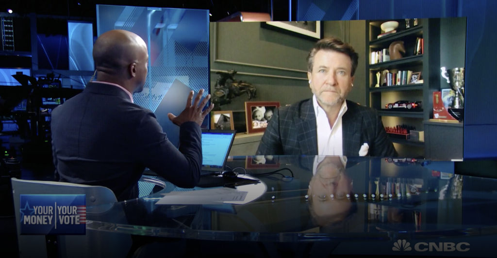 CNBC: Robert Herjavec on Cybersecurity Risks Facing the 2020 President Election